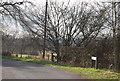 TQ7036 : Ranters Lane becomes Riseden Lane by N Chadwick