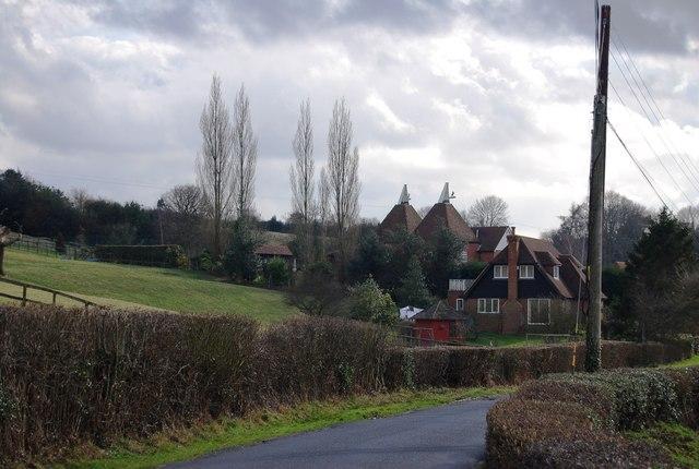Gatehouse Farm and Oast, Riseden Lane