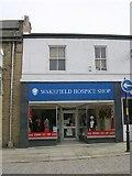 SE2627 : Wakefield Hospice Shop - Queen Street by Betty Longbottom