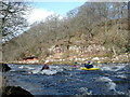 NY5342 : Rapid below the Croglin Water confluence by Andy Waddington
