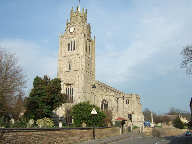 The parish church of St Andrew, Sutton-in-the-Isle
