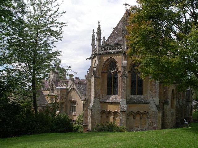 The chapel at Tyntesfield House