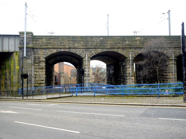Railway Viaduct by City Road