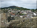 SH7877 : View over Conwy from the Castle by N Chadwick