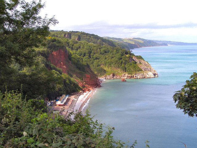Oddicombe Beach and Petit Tor Point