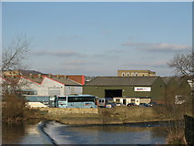 SE1537 : Travel Express Bus Depot, Shipley by Stephen Armstrong