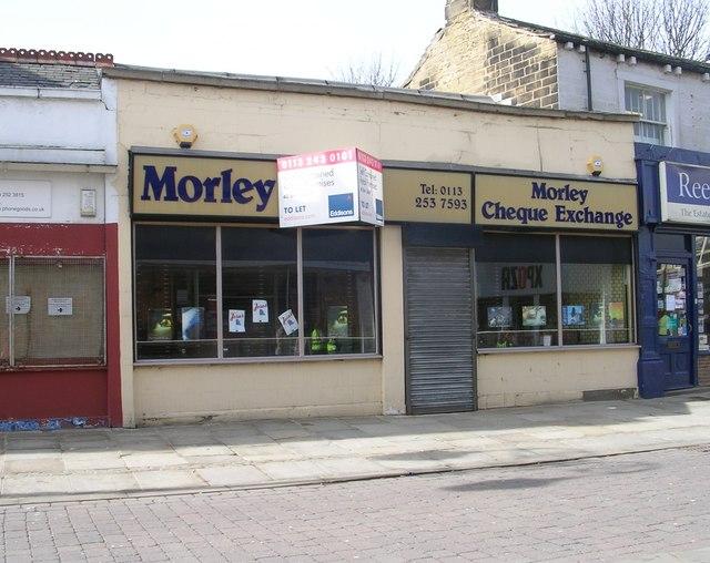 Morley Cheque Exchange - Queen Street