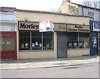 SE2627 : Morley Cheque Exchange - Queen Street by Betty Longbottom
