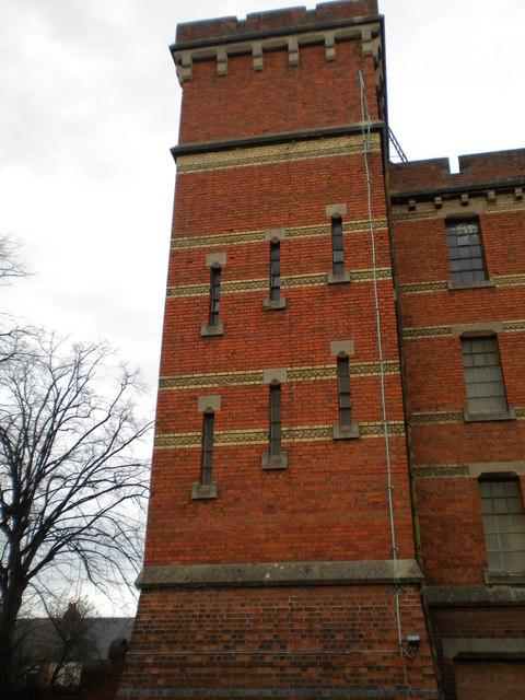 Tower, Brock Barracks, Oxford Road, Reading