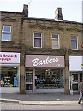 SE2627 : The Barbers Shop - Queen Street by Betty Longbottom