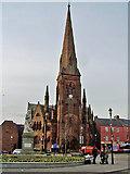 NX9776 : Greyfriars Church, Dumfries by Richard Dorrell