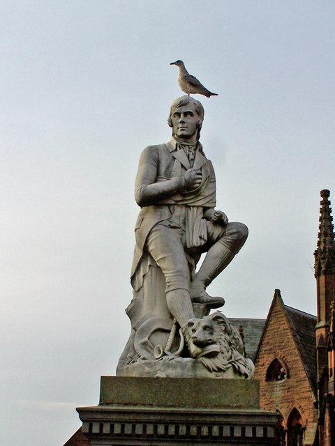 Robert Burns Statue Dumfries 169 Richard Dorrell