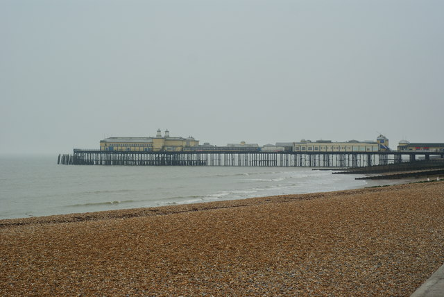 Beach at Hastings, Sussex