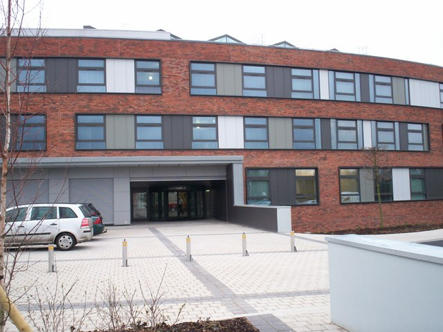 Main Entrance to the New Health and Care Centre, Portadown 6