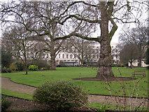TQ2882 : Park Crescent Gardens, Marylebone by Robin Stott