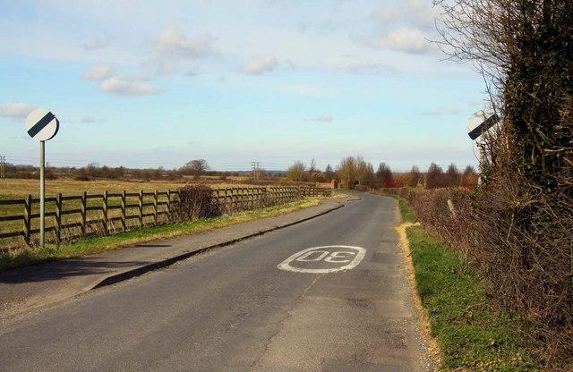 Denchworth Road at Grove