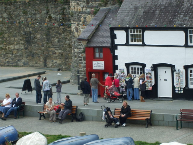 Britain's Smallest House, Conwy Quay