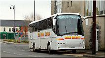 J4569 : Giles Tours coach, Comber by Albert Bridge