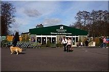 SJ7243 : Entrance to Bridgemere Garden World by Steve Daniels