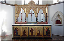 TQ1977 : St Paul, Grove Park, London W4 - High altar by John Salmon