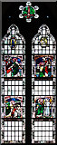 TQ1977 : St Paul, Grove Park, London W4 - Window by John Salmon