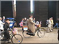 TQ8209 : Fancy Dress Cyclists by Oast House Archive