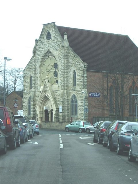 Church of God of Prophecy, Aston