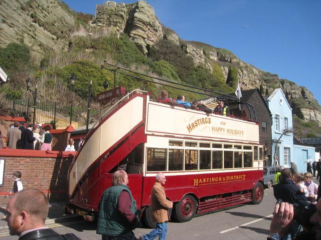 Happy Harold Trolley Bus