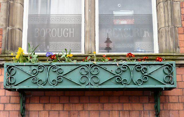 The Treasurer's window box