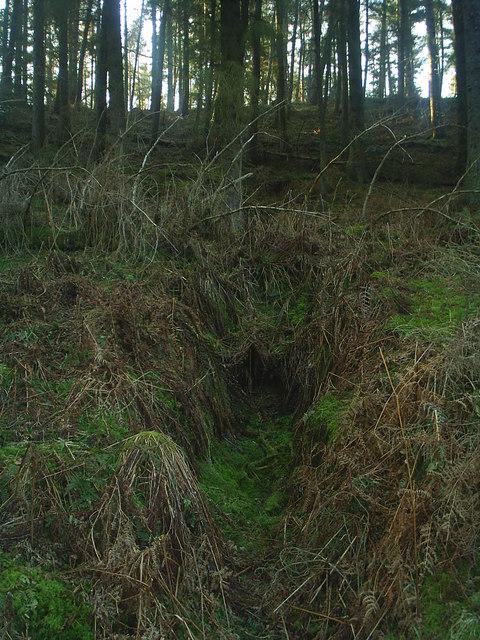 Abandoned lead mine