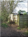 SJ6269 : It's easy to miss the beginning of this public footpath by Dr Duncan Pepper
