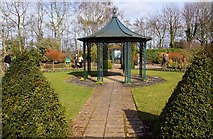 SJ7243 : A gazebo at Bridgemere Garden World by Steve Daniels