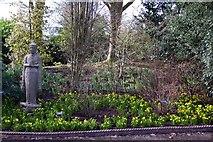 SJ7243 : Garden display at Bridgemere Garden World by Steve Daniels