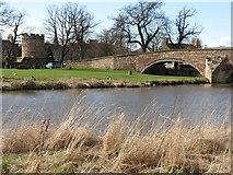 NT5173 : Nungate Bridge and the River Tyne by M J Richardson