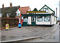 TM1682 : Dickleburgh village store and Post Office by Evelyn Simak