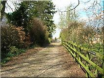 TA0130 : Private drive off Riplingham Road by JThomas