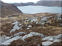 NB0319 : The hillside above Aird Sleitnis by Mike Dunn