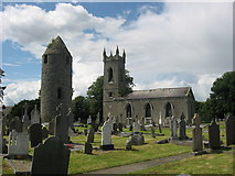 O0598 : Round Tower and Church at Dromiskin, Co. Louth by Kieran Campbell