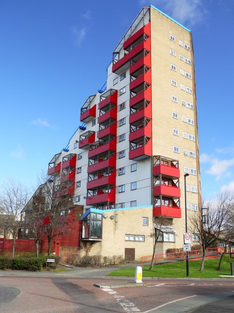 Tom Collins House Byker Wall 169 Andrew Curtis Geograph