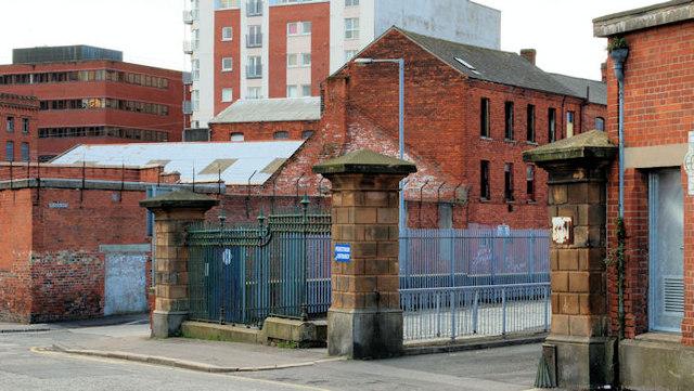 Former Belfast Corporation yard