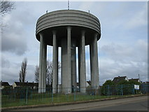 NS7061 : Tannochside Water Tower by G Laird