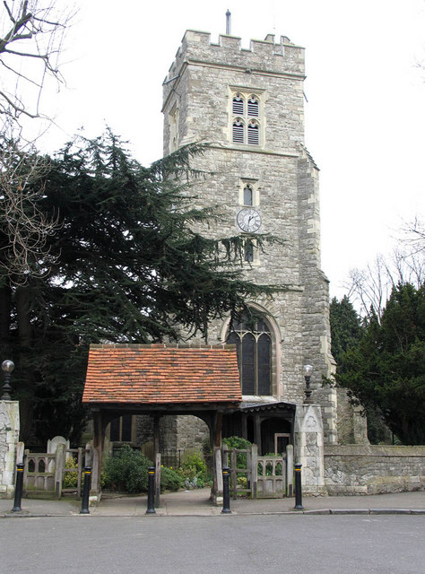 St Leonard, Heston - Tower