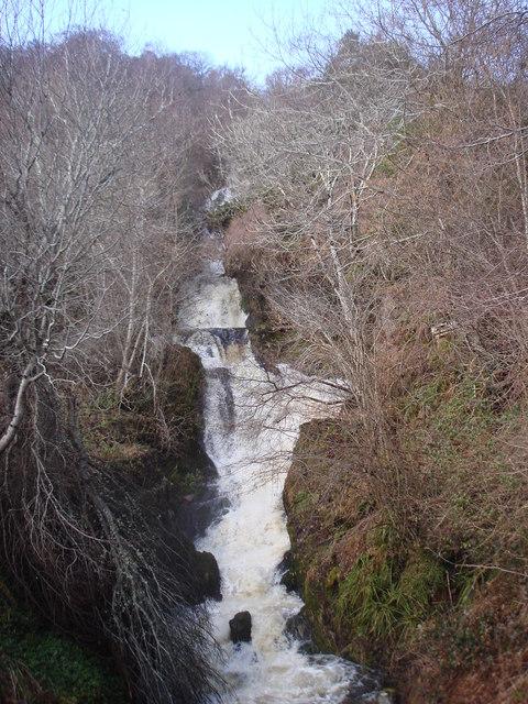 Waterfall at Abriachan