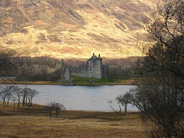 Loch Awe: Kilchurn Castle