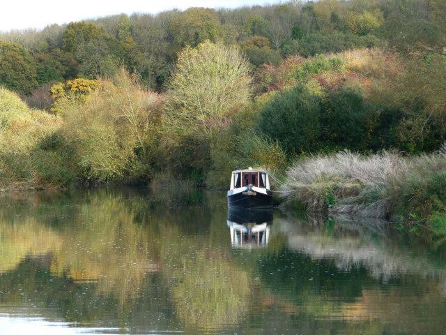 River Thames downstream of Eynsham Lock