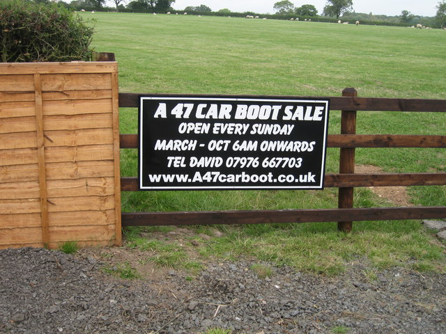 A47 Car Boot sale Thurlaston (between L.F.E & Earl Shilton)