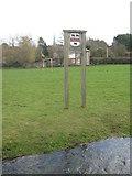TR2050 : Barham Village Sign by David Anstiss