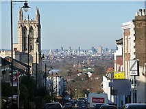 TQ3370 : View down Gipsy Hill by Stephen Richards