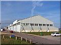 SU4802 : Sunderland Hangar, Calshot Activity Centre by Richard Dorrell