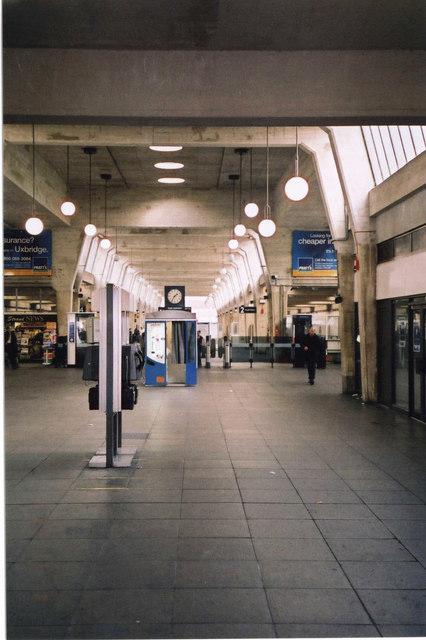 Concourse, Uxbridge Underground Station, High Street, Uxbridge